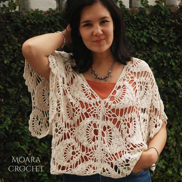 Aurelia Crochet Top by Moara Crochet