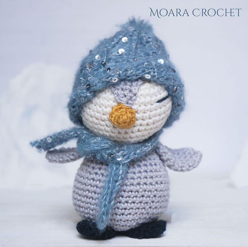 Crochet Penguin Pattern - Moara Crochet