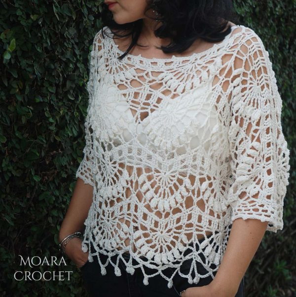 Crochet Top Kiara - Moara Crochet