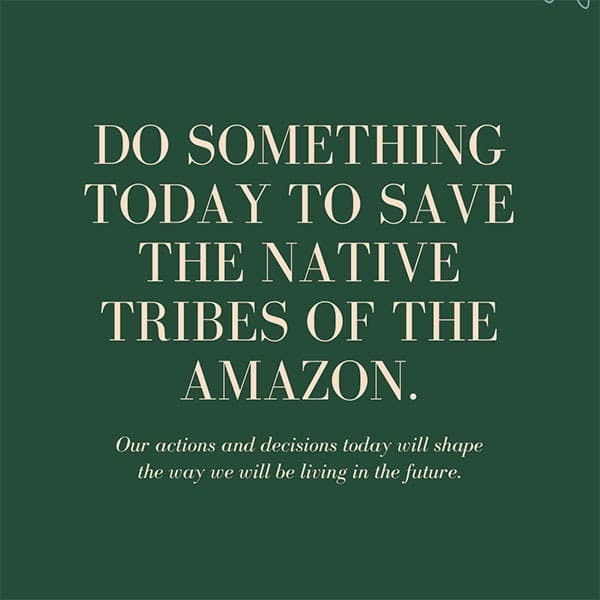 Every Life Matters - Amazon Tribes - Moara Crochet