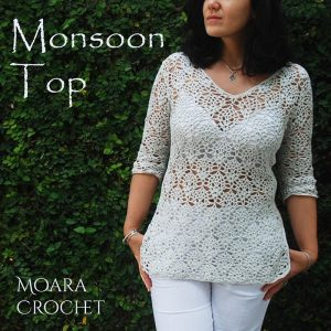 Monsoon Crochet Top - Moara Crochet