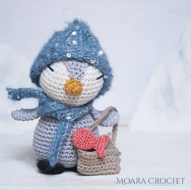 Pedro Crochet Penguin Pattern - Moara Crochet