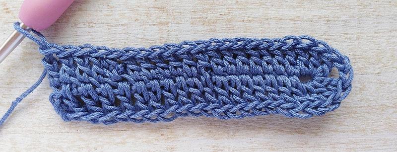Row 1- Moara Crochet
