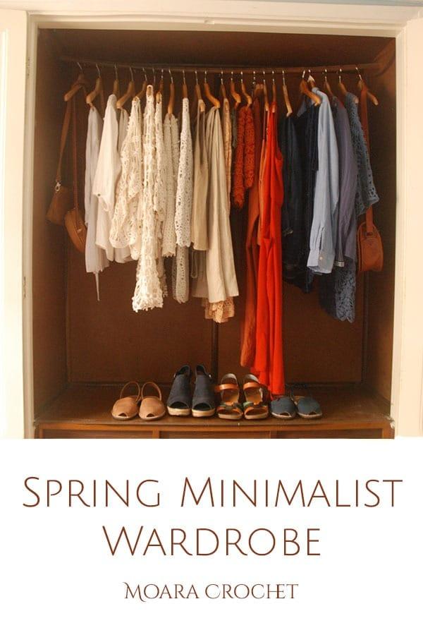 Crochet Minimalist Wardrobe List - Spring with Moara Crochet