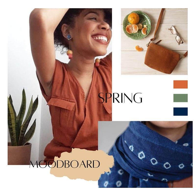Minimalist Wardobe List - Spring Mood Board - Moara Crochet