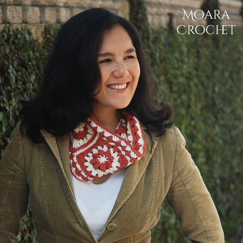Easy Crochet Scarf Patterns - Moara Crochet