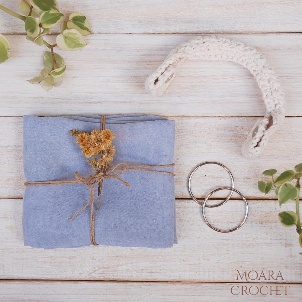 Free Crochet Bag Handle Pattern from Moara Crochet