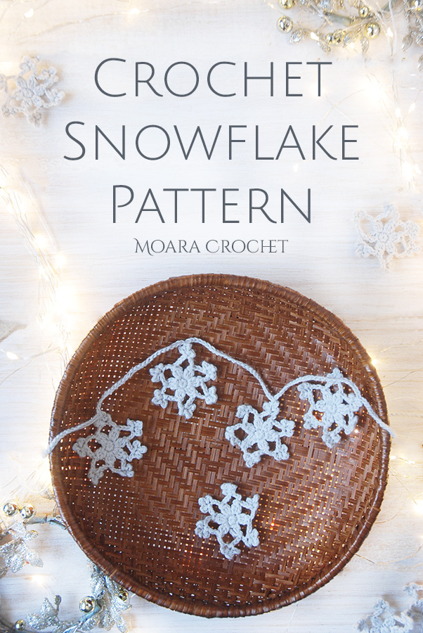 Free Crochet Snowflake Patterns Moara Crochet blog