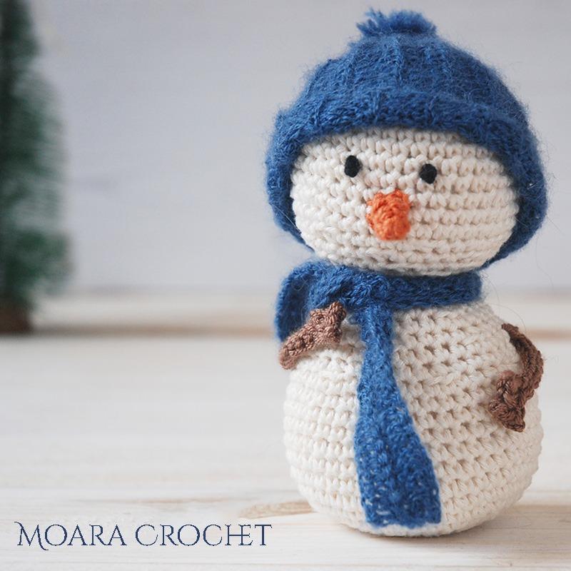 Free Crochet Snowman Pattern - Moara Crochet Blog
