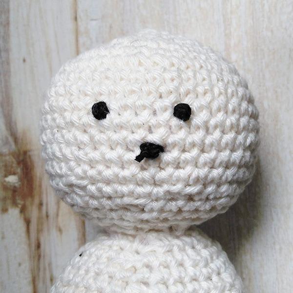 Snowman Face 4 - Moara Crochet