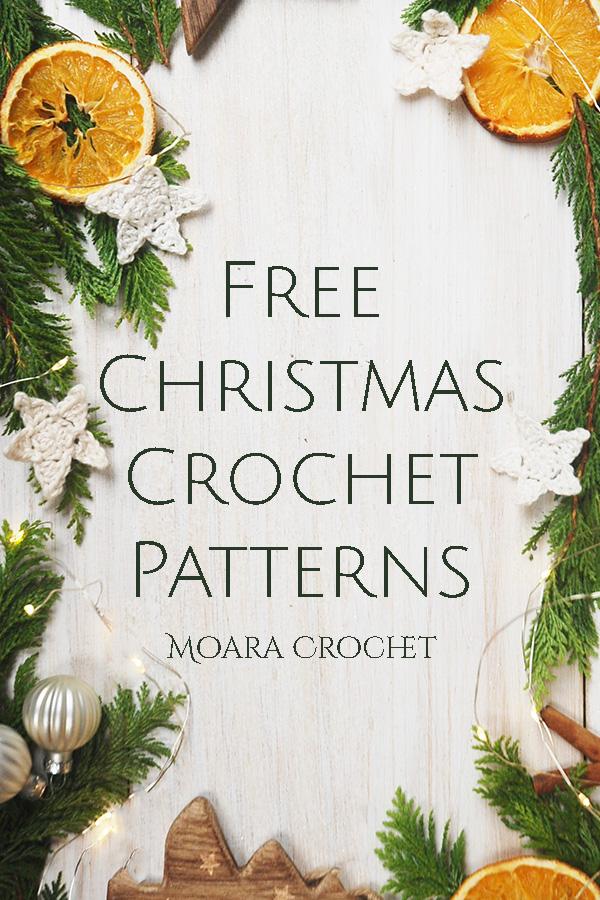 Free Christmas Crochet Patterns from Moara Crochet