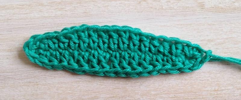 Crochet Free Leaf Pattern - Moara Crochet