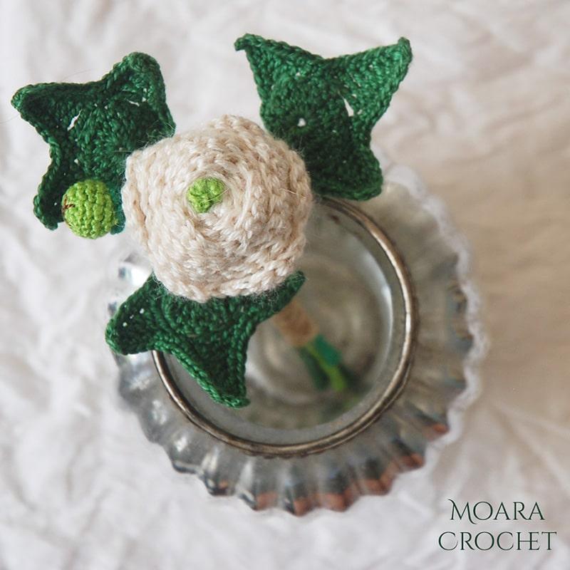 Crochet Leaf Pattern IVY - Moara Crochet