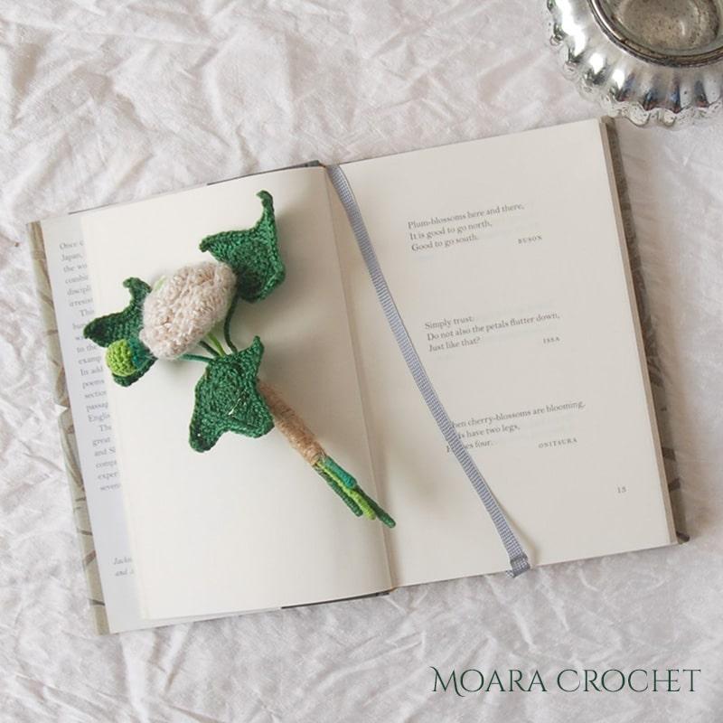 Free Crochet Leaf Pattern IVY - Moara Crochet