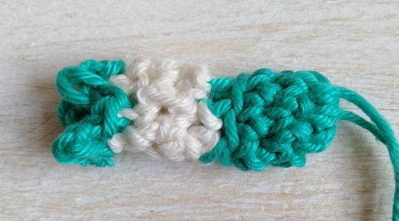 Row 7 - Moara Crochet
