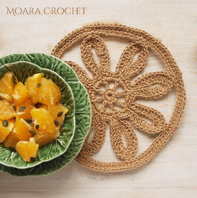Free Crochet Placemat Pattern Moara Crochet