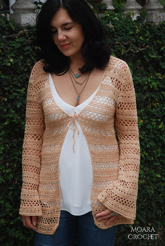 Boho Crochet Cardigan PDF by Moara Crochet
