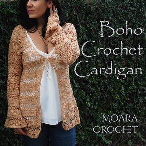 Boho Crochet Cardigan Roseanna Murray Moara Crochet