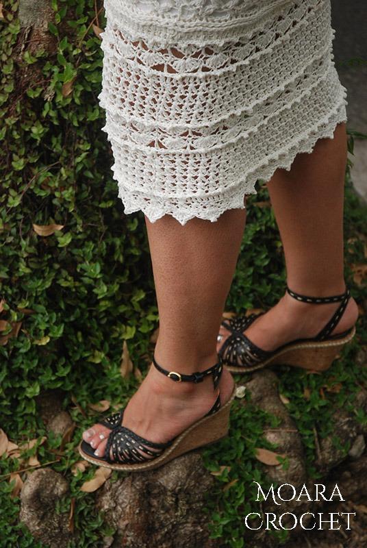Boho Crochet Skirt Sophia by Moara Crochet