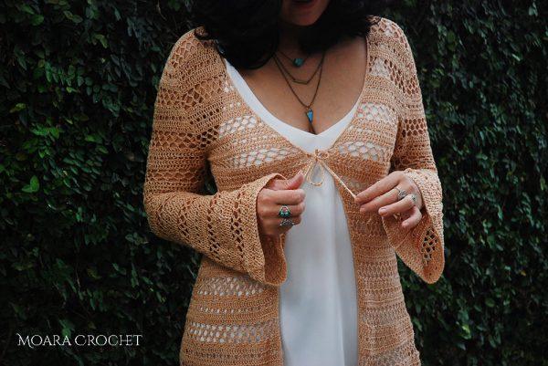 Crochet Beach Cover up Pattern by Moara Crochet