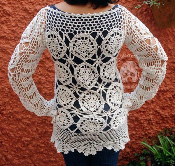 Ladies Crochet top Patterns - Moara Crochet