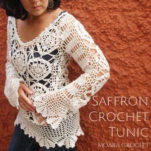 Saffron Crochet Tunic Pattern - Moara Crochet