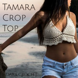 Tamara Crochet Crop Top - Moara Crochet