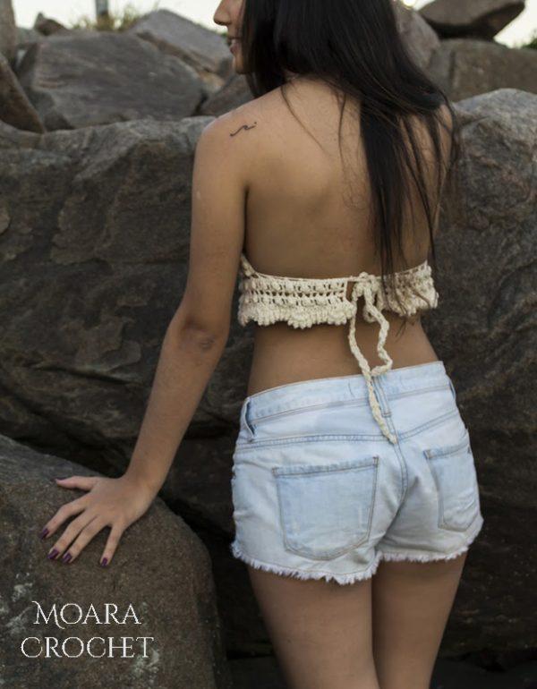 Tamara Crochet Top Details - Moara Crochet