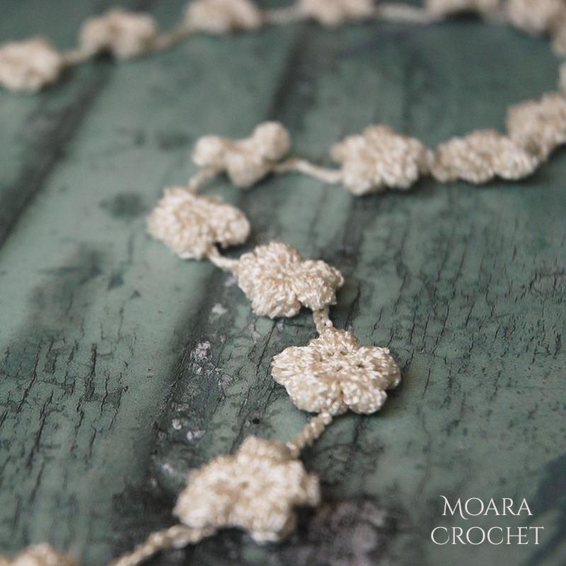 Crochet Puff Flower Pattern - Moara Crochet